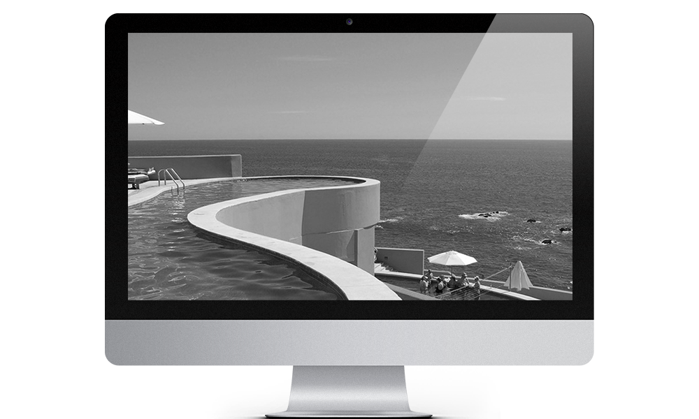 Image of desktop apple computer