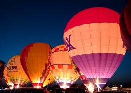 Image of hot air ballons