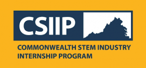 Commonwealth STEM Industry Internship Program Logo