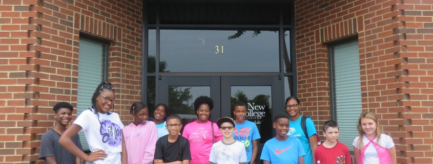 Kids visit STEM camp at NCI's Fayette Lab
