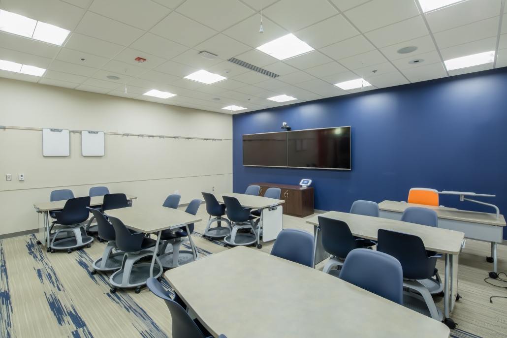 Image of Room 102 in Baldwin Building
