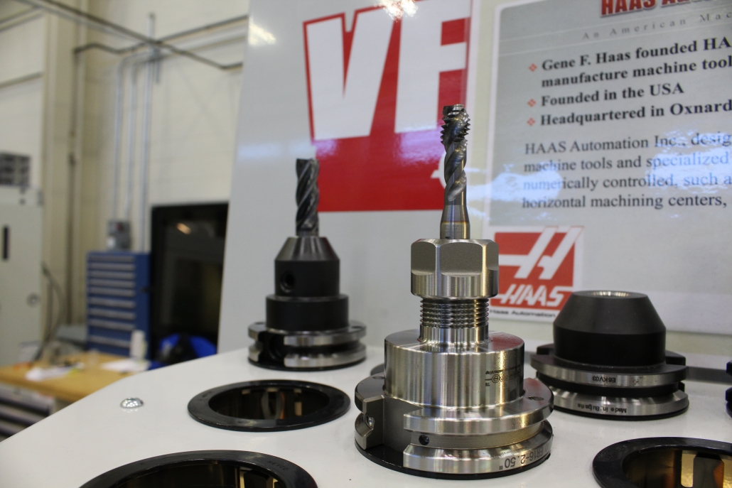 Haas-VF1 Machine in NCI's Center of Advanced Manufacturing