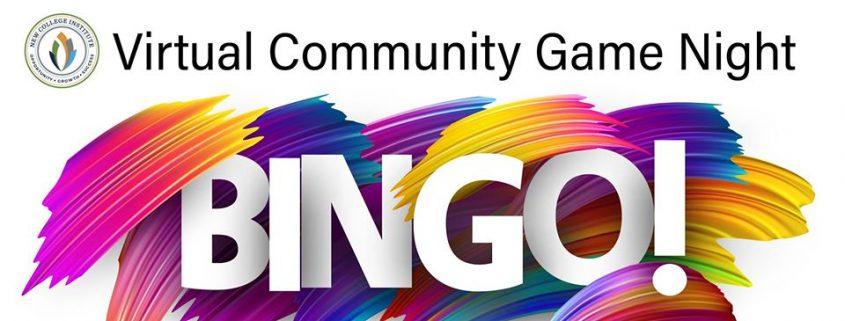 Virtual Game Night Bingo Logo