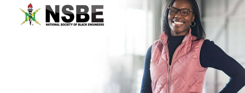 Graphic for NSBE with Young Female Member