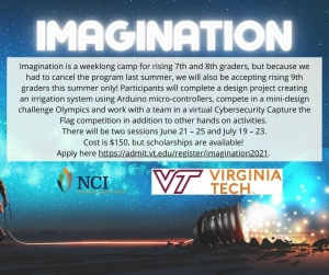 Va Tech Summer Camp