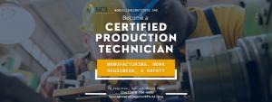 certified Production technician
